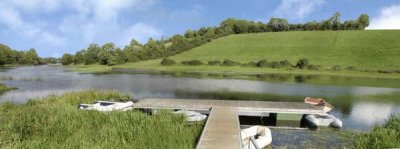 Erne River Lodges Outdoor - Pontoon bridge