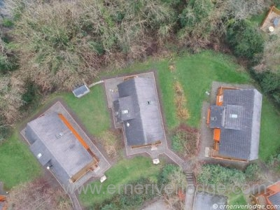 Erne River Lodges Outdoor - Lodge View